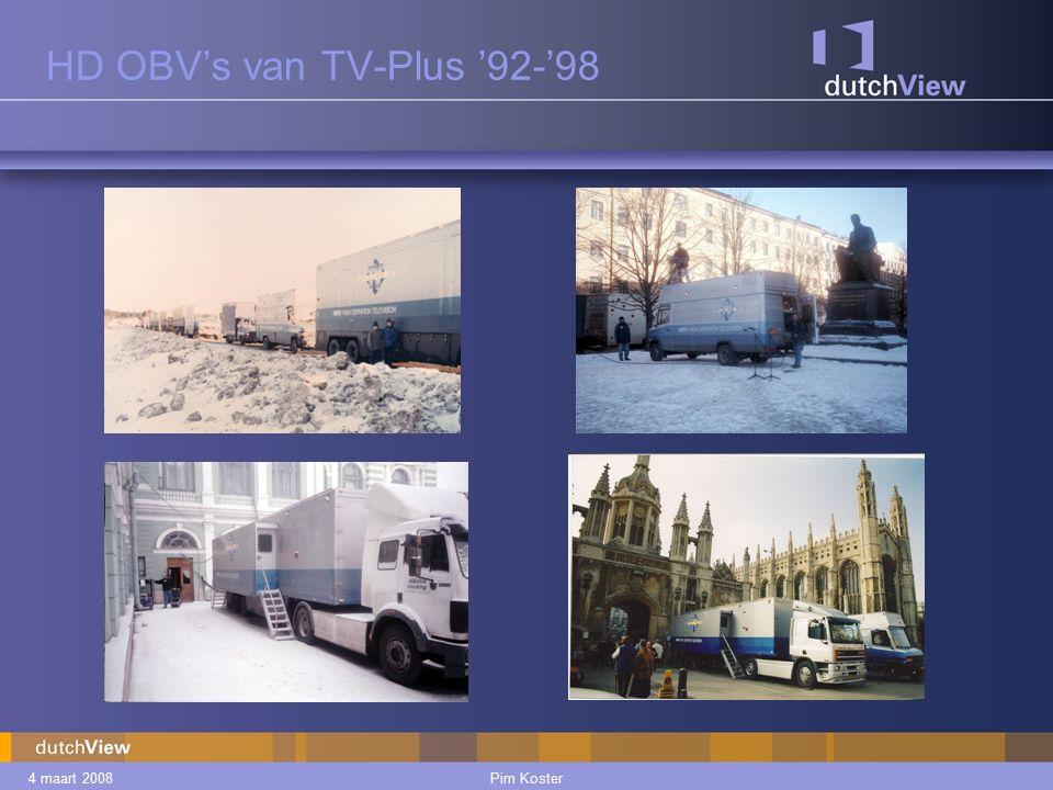 4 maart 2008Pim Koster HD OBV's van TV-Plus '92-'98