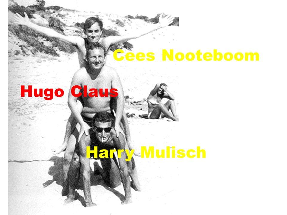 Hugo Claus Simon Vinkenoog Louis Paul Boon