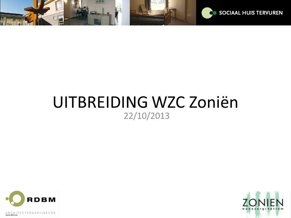 UITBREIDING WZC Zoniën 22/10/2013
