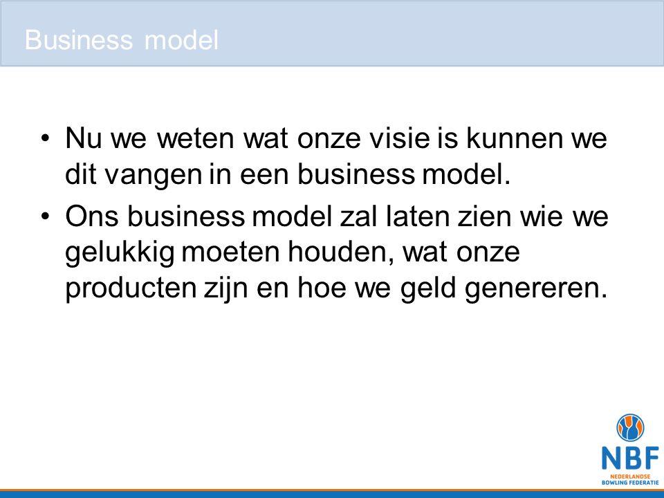 Nu we weten wat onze visie is kunnen we dit vangen in een business model. Ons business model zal laten zien wie we gelukkig moeten houden, wat onze pr