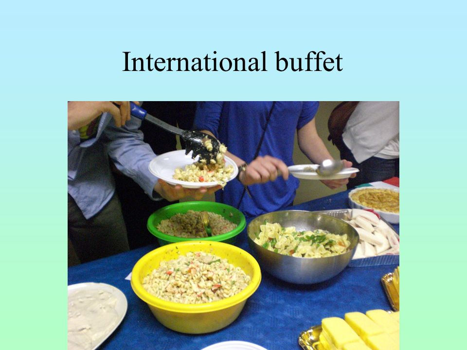 International buffet 17