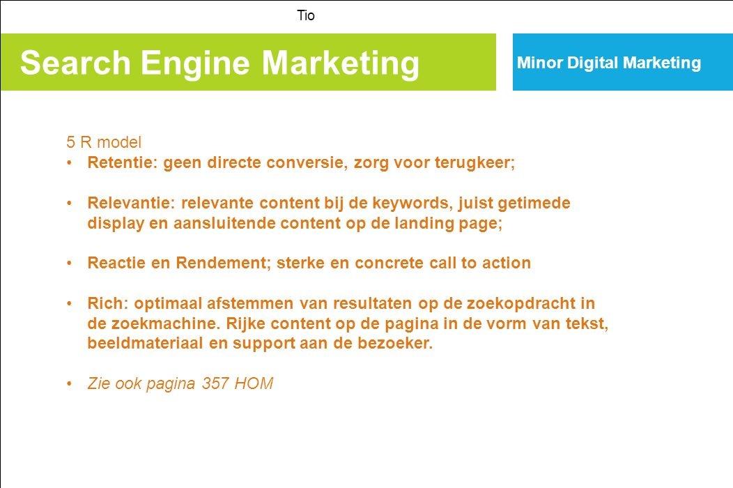 Search Engine Marketing Tio Minor Digital Marketing Tot slot.