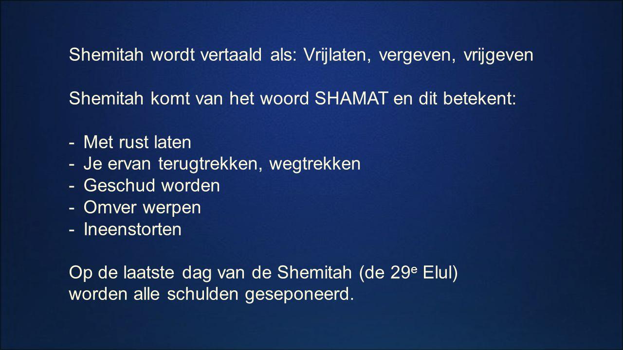 Dit is de laatste beursdag voor het einde van de Shemitah en de 14 e jaar (2x7 ) na 11 september 2001