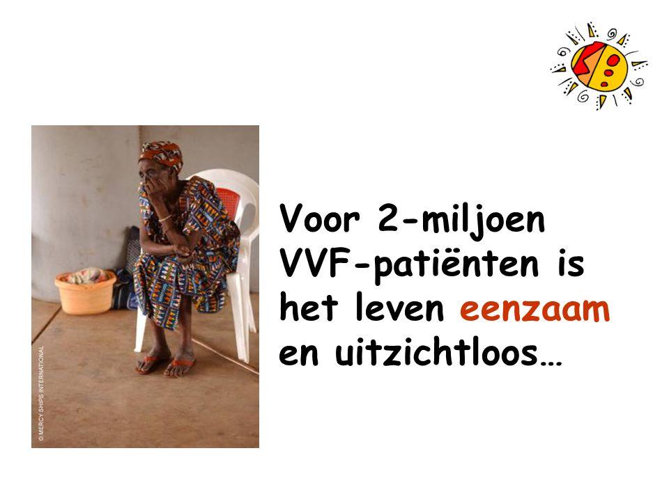 Voor 2-miljoen VVF-patiënten is het leven eenzaam en uitzichtloos…