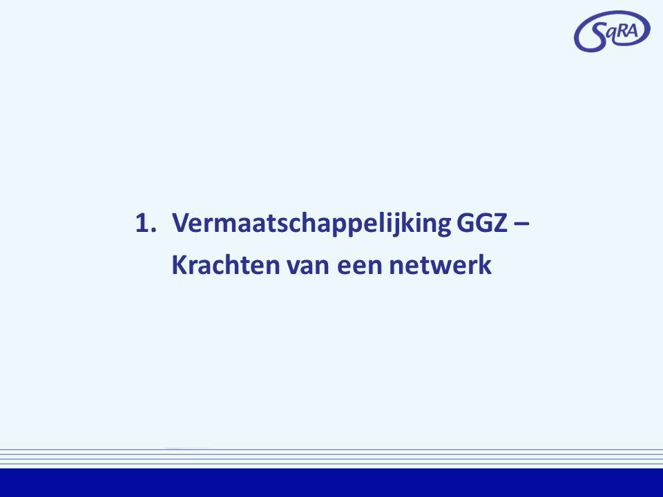1.Vermaatschappelijking GGZ – Krachten van een netwerk