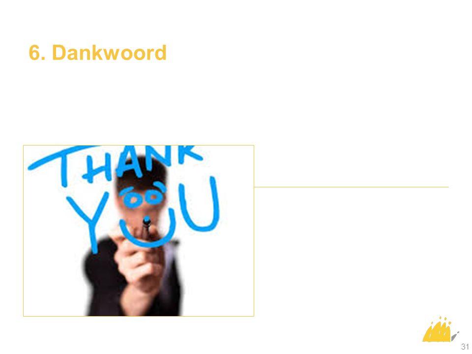 6. Dankwoord 31