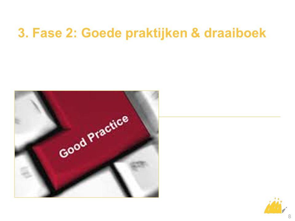 3. Fase 2: Goede praktijken & draaiboek 8