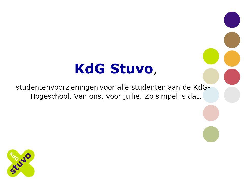 KdG Stuvo, studentenvoorzieningen voor alle studenten aan de KdG- Hogeschool.