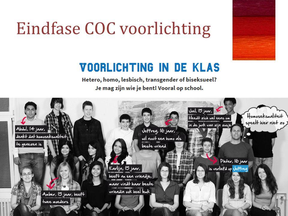 Eindfase COC voorlichting