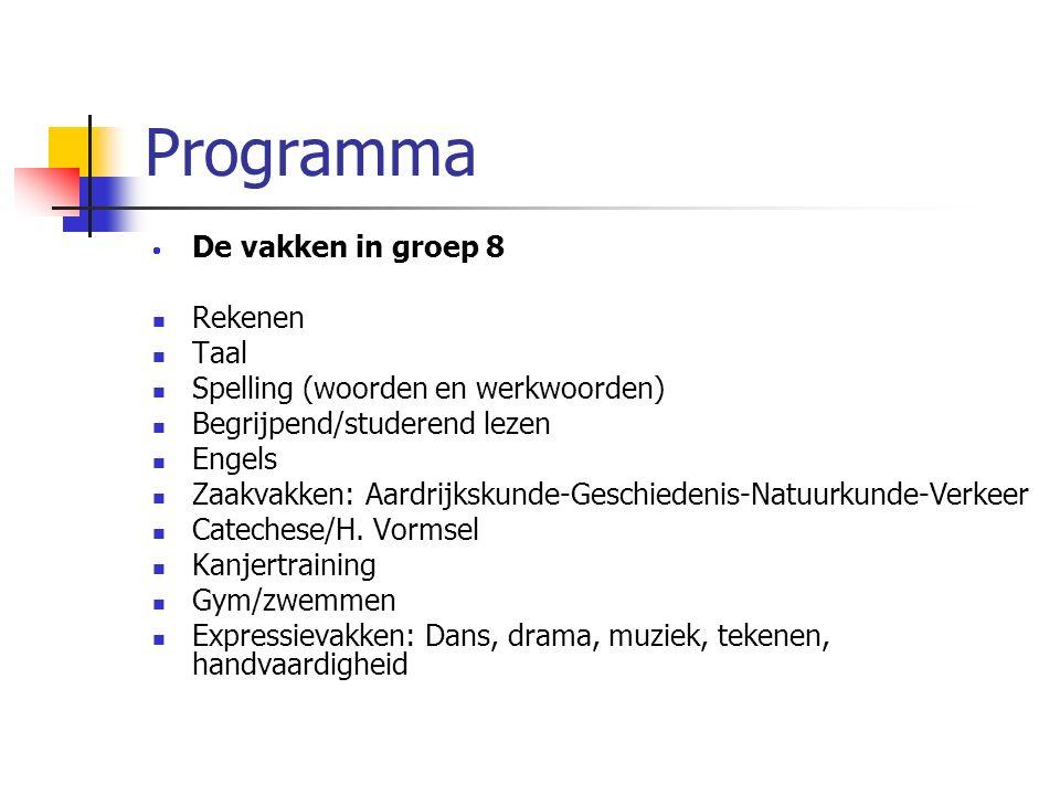 Communicatie: Communicatie: SONAR SONAR Website algemeen Website algemeen Website groep 8 met o.a.