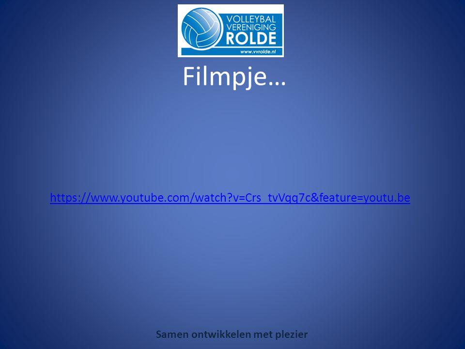 https://www.youtube.com/watch v=Crs_tvVqq7c&feature=youtu.be Samen ontwikkelen met plezier Filmpje…