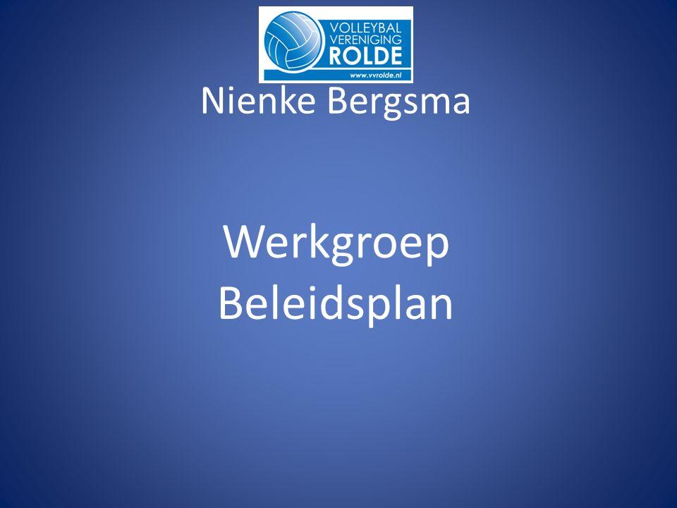 Nienke Bergsma Werkgroep Beleidsplan