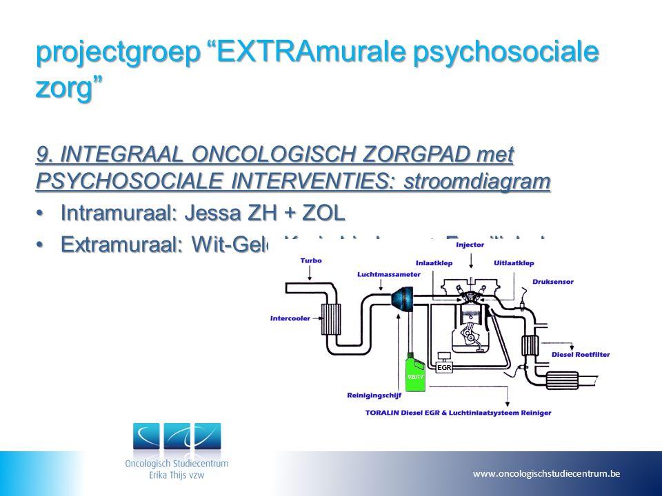 projectgroep EXTRAmurale psychosociale zorg 9.