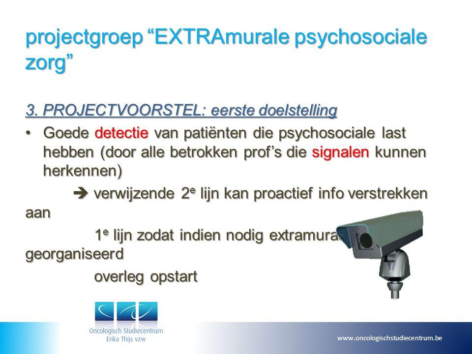 projectgroep EXTRAmurale psychosociale zorg 3.
