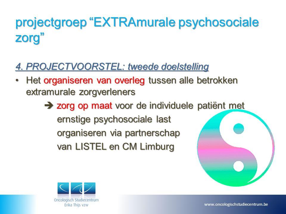 projectgroep EXTRAmurale psychosociale zorg 4.