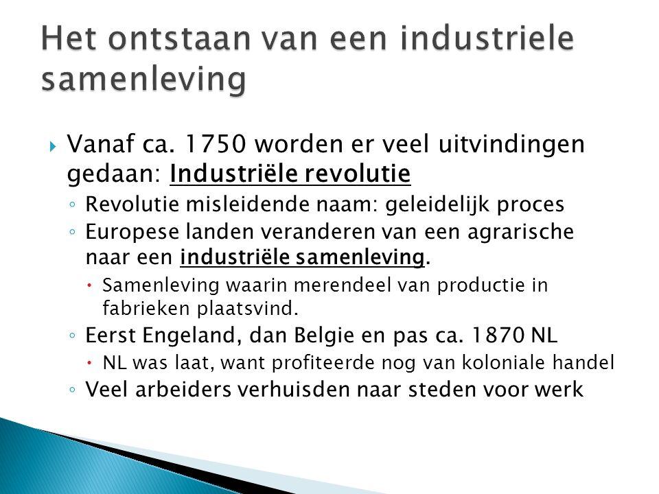  Industriele revolutie: Ca.
