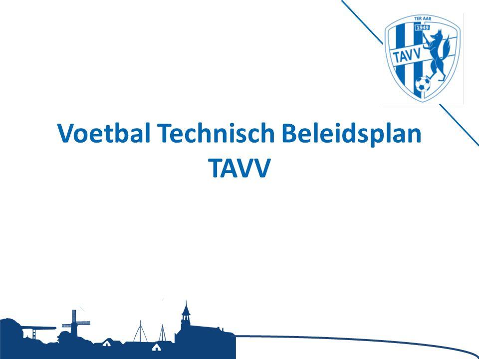 Voetbal Technisch Beleidsplan TAVV