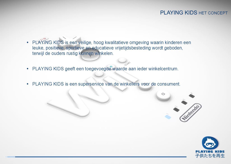 PLAYING KIDS is een veilige, hoog kwalitatieve omgeving waarin kinderen een leuke, positieve, sportieve en educatieve vrijetijdsbesteding wordt gebode