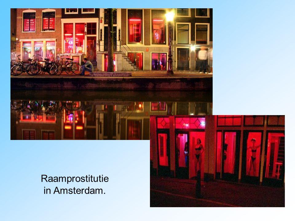 Raamprostitutie in Amsterdam.