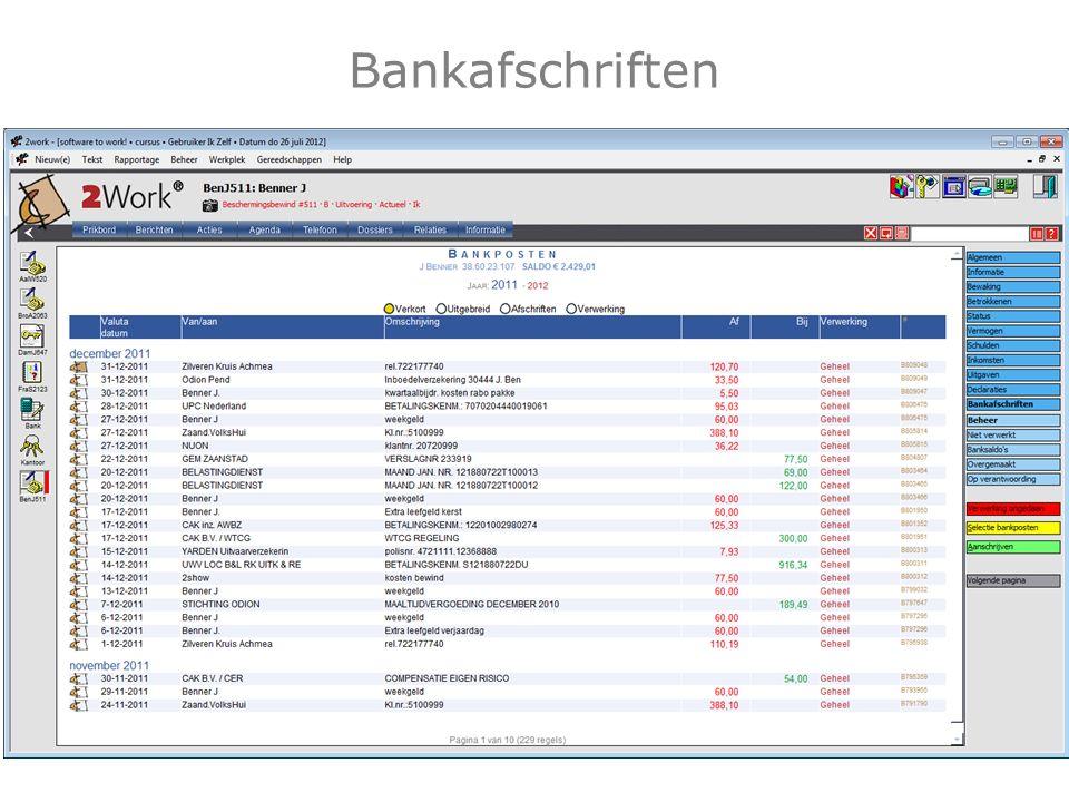 Bankafschriften