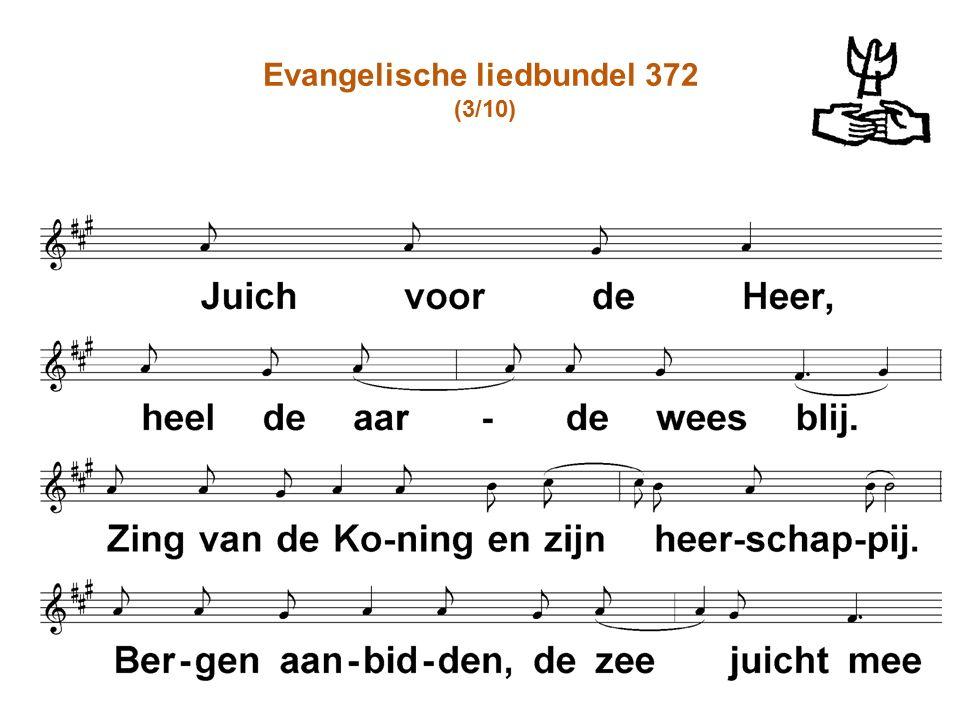 Evangelische liedbundel 372 (3/10)