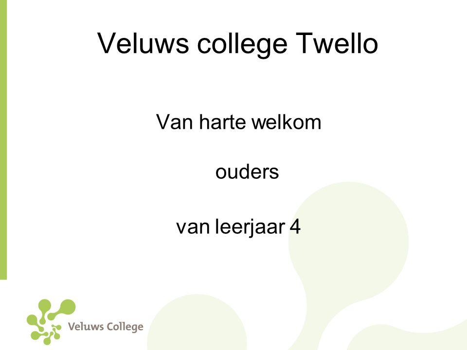 Veluws college Twello Van harte welkom ouders van leerjaar 4