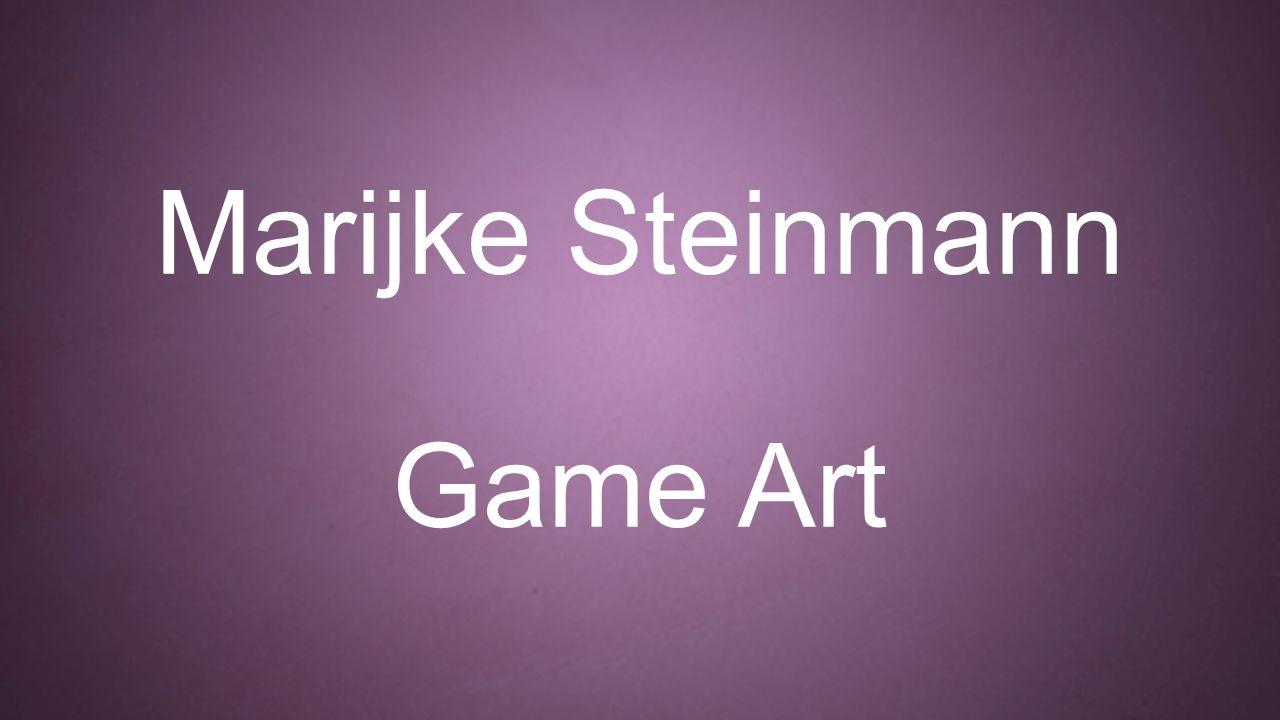 Marijke Steinmann Game Art