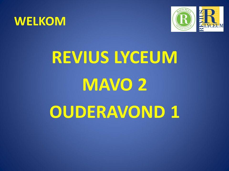 WELKOM REVIUS LYCEUM MAVO 2 OUDERAVOND 1