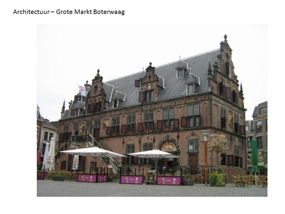 Architectuur – Grote Markt Boterwaag