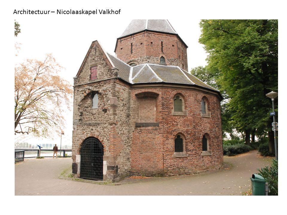 Architectuur – Nicolaaskapel Valkhof