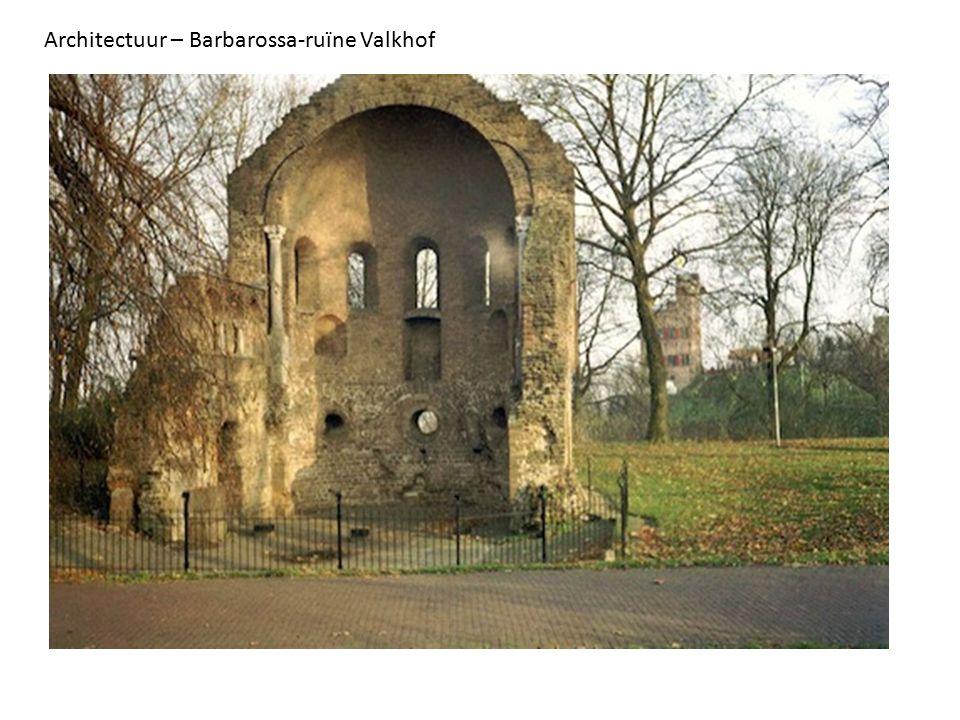 Architectuur – Barbarossa-ruïne Valkhof