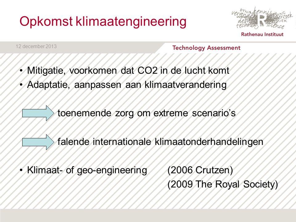 12 december 2013 Opwarming van de aarde Hoe werkt het broeikaseffect?