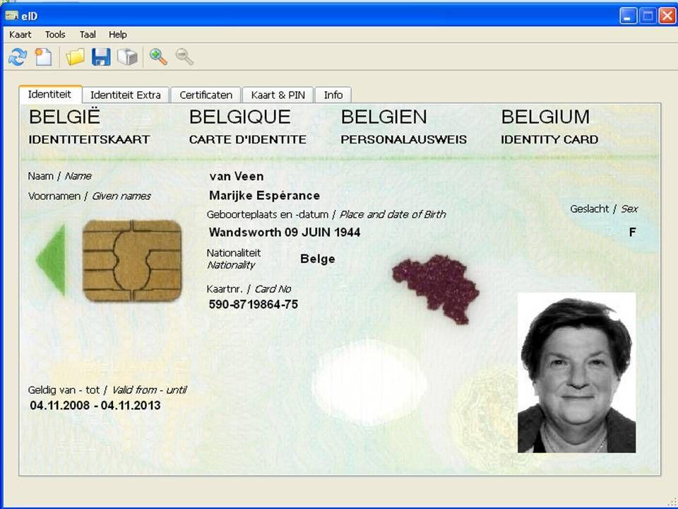 Deze presentatie mag noch geheel, noch gedeeltelijk worden gebruikt of gekopieerd zonder de schriftelijke toestemming van Seniornet Vlaanderen VZW maart 2009 EID en e-government 40