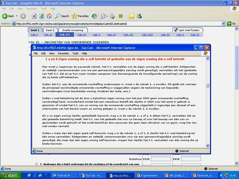 Deze presentatie mag noch geheel, noch gedeeltelijk worden gebruikt of gekopieerd zonder de schriftelijke toestemming van Seniornet Vlaanderen VZW maart 2009 EID en e-government 50