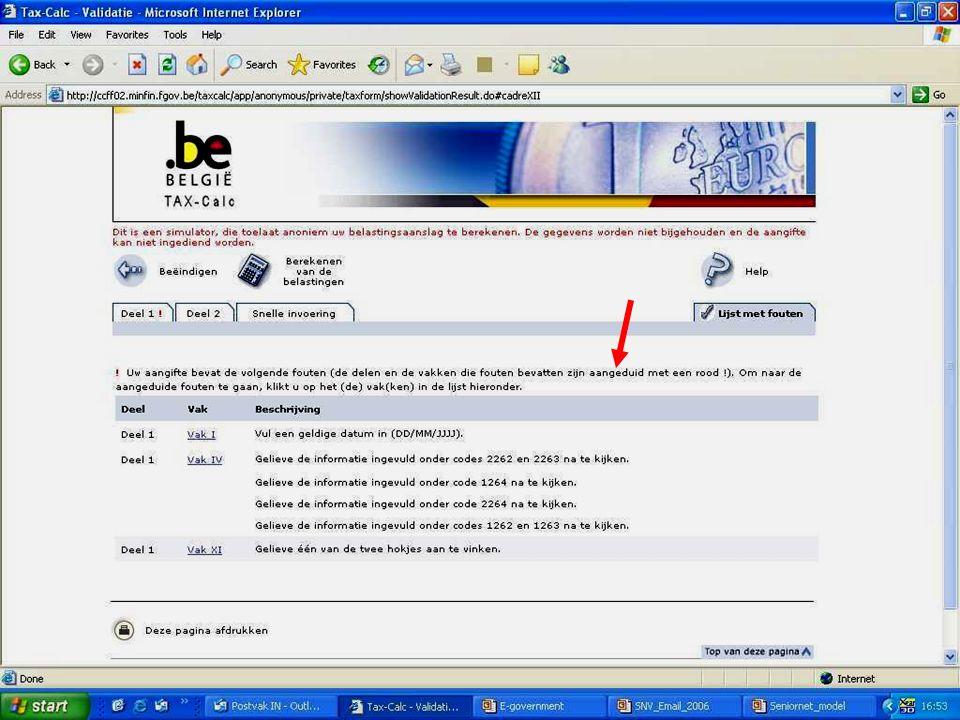 Deze presentatie mag noch geheel, noch gedeeltelijk worden gebruikt of gekopieerd zonder de schriftelijke toestemming van Seniornet Vlaanderen VZW maart 2009 EID en e-government 52