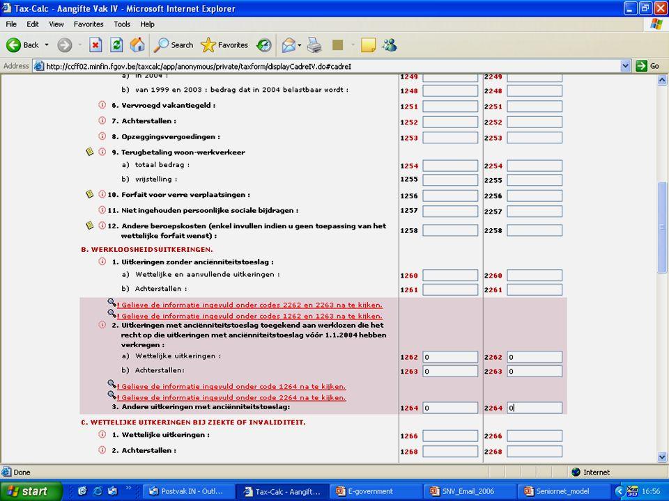 Deze presentatie mag noch geheel, noch gedeeltelijk worden gebruikt of gekopieerd zonder de schriftelijke toestemming van Seniornet Vlaanderen VZW maart 2009 EID en e-government 53