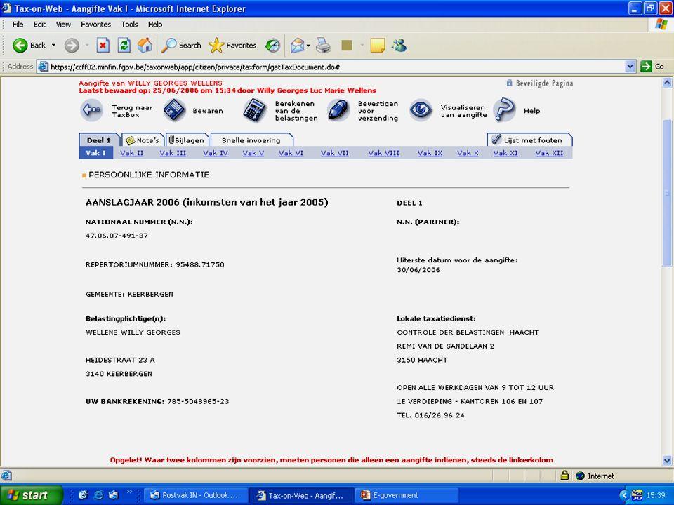 Deze presentatie mag noch geheel, noch gedeeltelijk worden gebruikt of gekopieerd zonder de schriftelijke toestemming van Seniornet Vlaanderen VZW maart 2009 EID en e-government 72