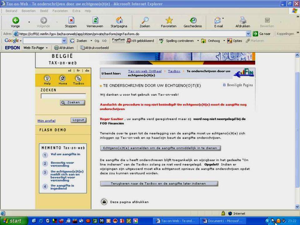 Deze presentatie mag noch geheel, noch gedeeltelijk worden gebruikt of gekopieerd zonder de schriftelijke toestemming van Seniornet Vlaanderen VZW maart 2009 EID en e-government 73