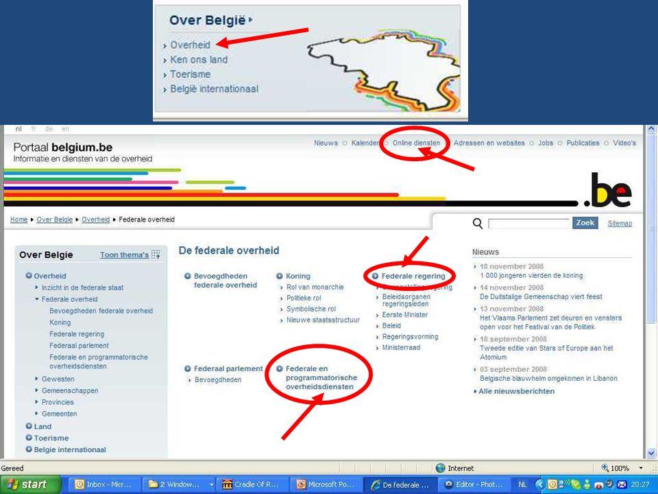Deze presentatie mag noch geheel, noch gedeeltelijk worden gebruikt of gekopieerd zonder de schriftelijke toestemming van Seniornet Vlaanderen VZW maart 2009 EID en e-government 8