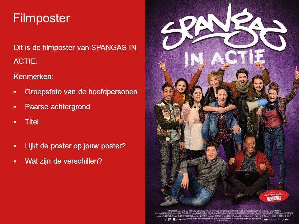 Filmp oster Dit is de filmposter van SPANGAS IN ACTIE.