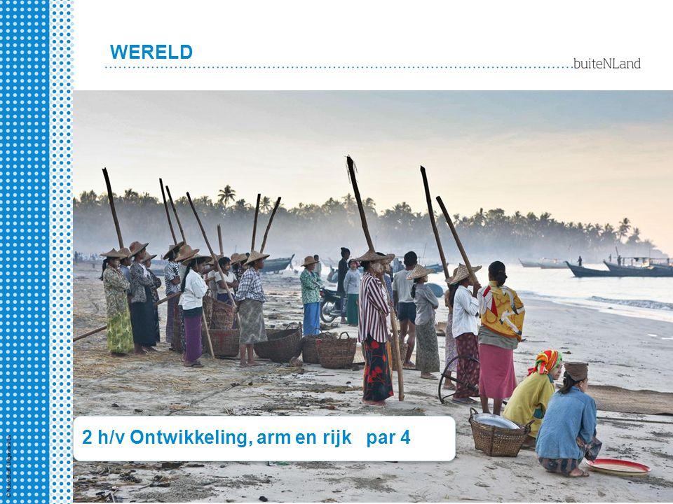 2 h/v Ontwikkeling, arm en rijk par 4 WERELD