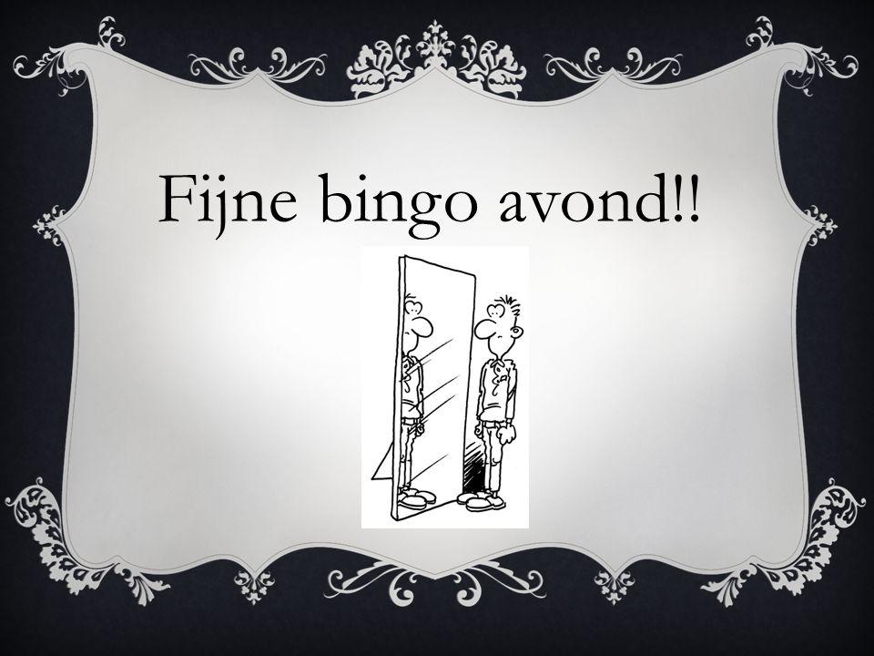 Fijne bingo avond!!