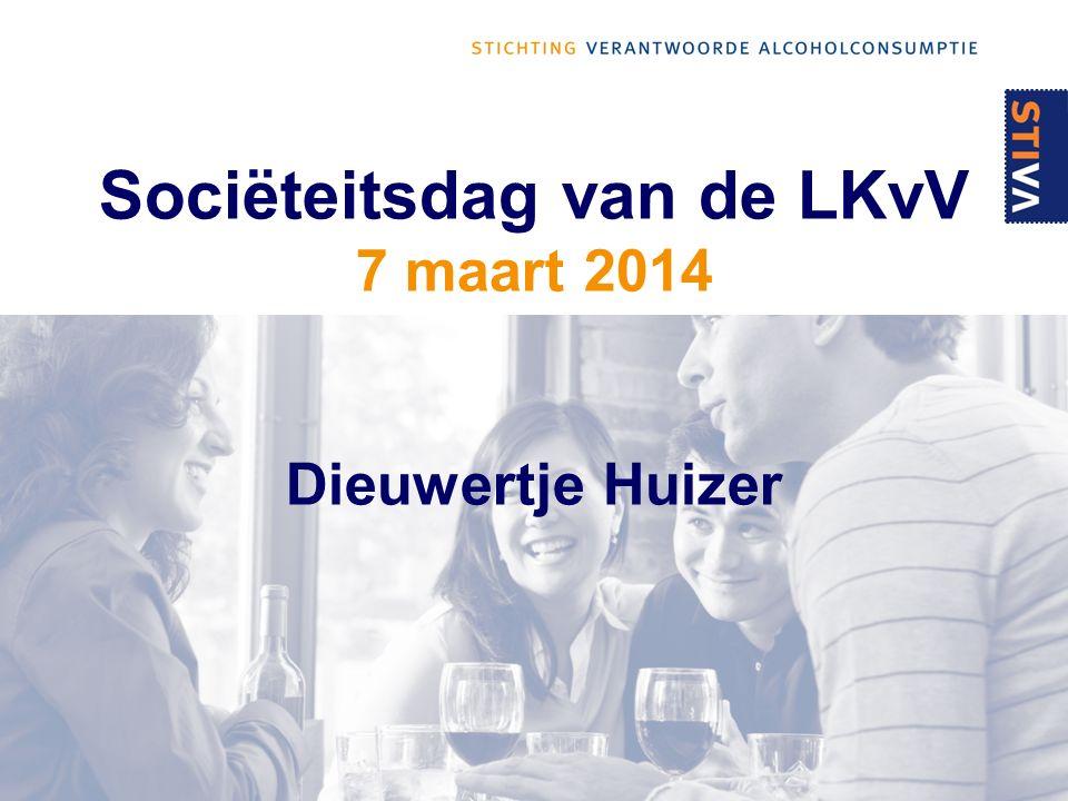 Sociëteitsdag van de LKvV 7 maart 2014 Dieuwertje Huizer