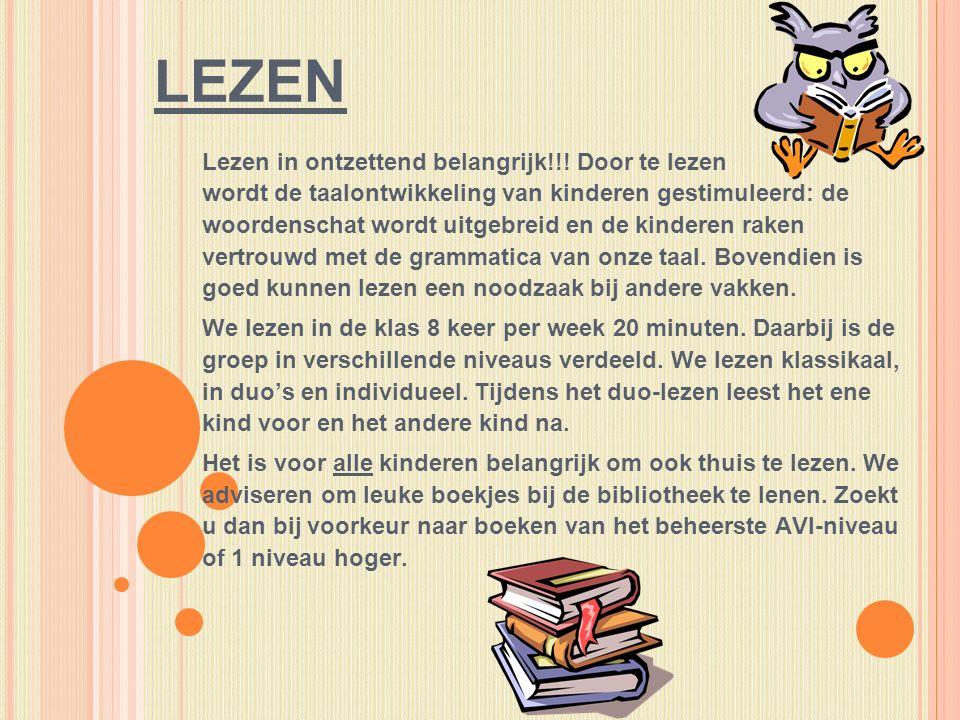 LEZEN Lezen in ontzettend belangrijk!!.