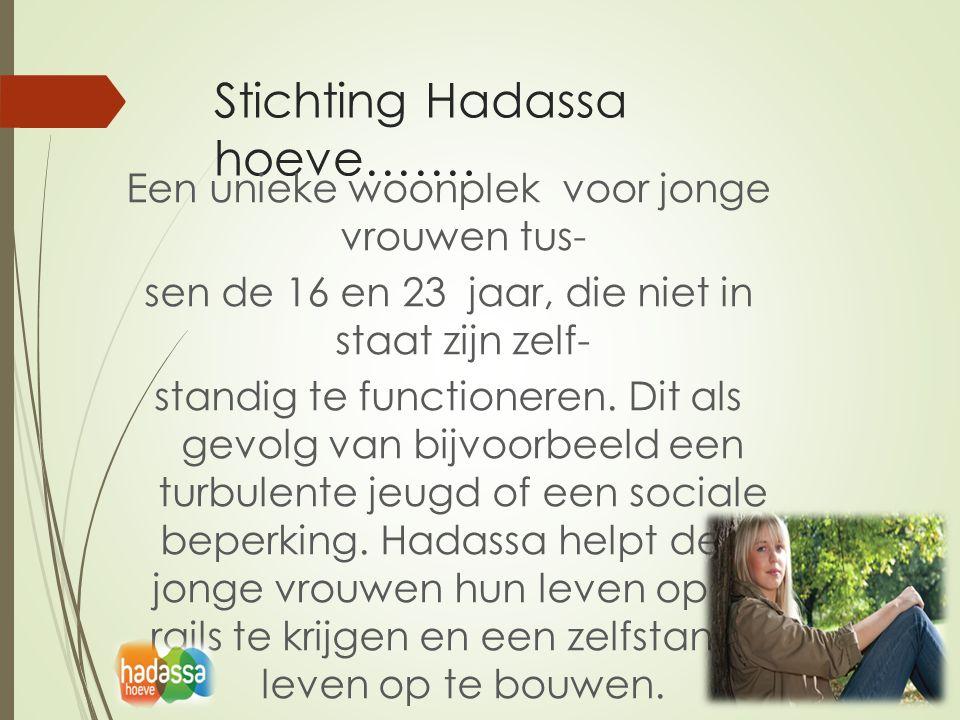Stichting Hadassa hoeve…….