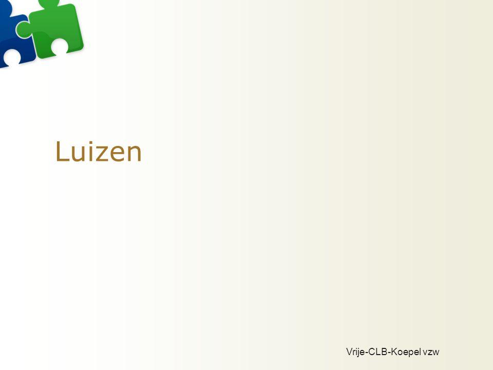 Vrije-CLB-Koepel vzw Luizen