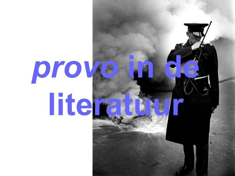 provo in de literatuur