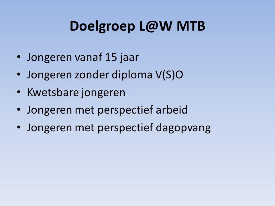 Doel Plaatsen in een zo regulier mogelijk bedrijf of bij een van de partner bedrijven van de MTB.