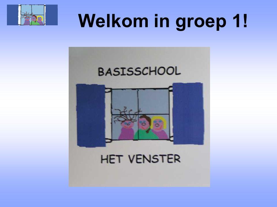Welkom in groep 1!