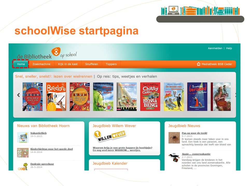 schoolWise startpagina
